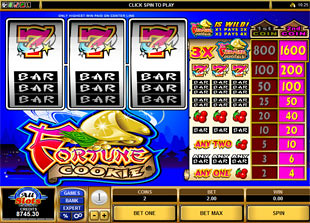 Fortune Cookie slot game online review