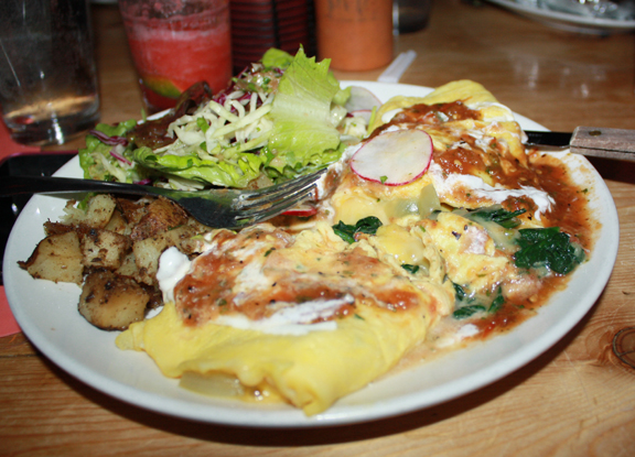 Love in the form of a Spanglish Omelette
