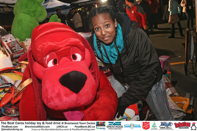 The BEAT CARES holiday food and toy drive at Brentwood Town Centre photos by Ron Sombilon Gallery (697) by Ron Sombilon Gallery