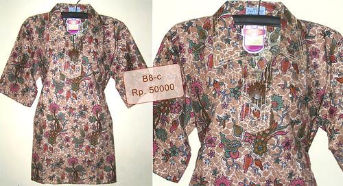 baju atasan dress batik wanita murah 45000 70000