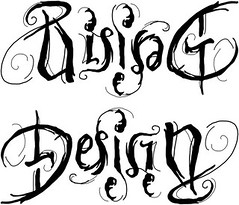 """Rising Design"" Ambigram"