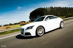 Audi TTS Ibis white (OFautography (Orange Frenzy)) Tags: white canon eos is s ibis l 5d tts tt usm audi weiss blanc ef f4 24105 weib