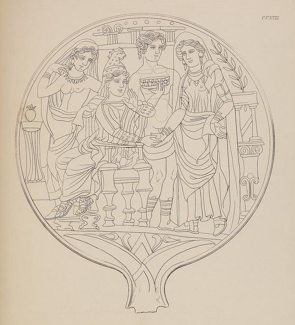 Etruskische Spiegel by Eduard Gerhard, 1840s h