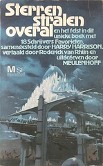 Sterren Stralen Overal (Meulenhoff 1977) (horzel) Tags: sciencefiction bookcover meulenhoff harryharrison paullehr dutchtranslation