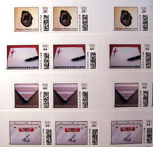 Missive Maven stamps