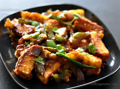 chilli paneer indo chinese recipe