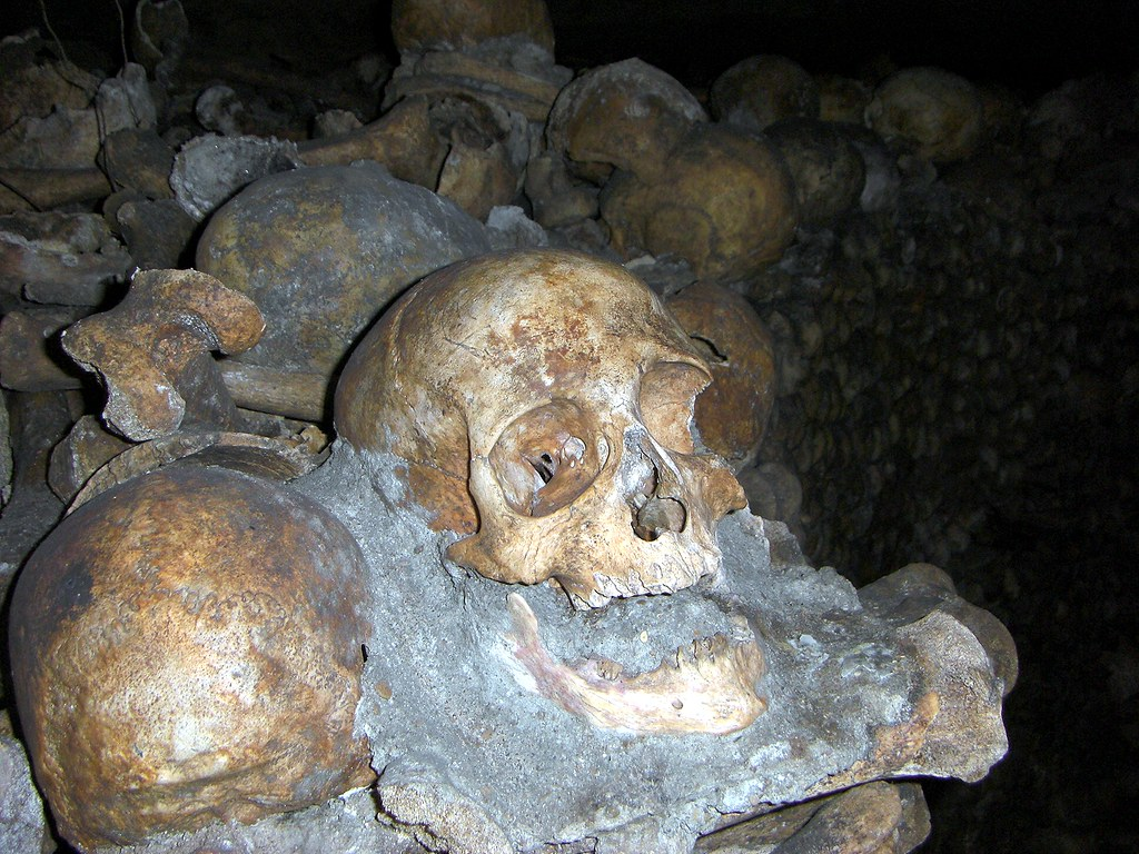 L'empire de la mort, The Catacombs, Paris