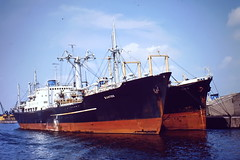 SANTOS (50C Transport) Tags: classic up ship belgium gent freighter laid