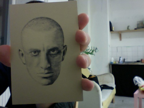 Mayakovsky postcard (4 copies)
