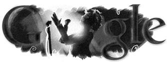 Google 95e anniversaire de la naissance d'Edith Piaf