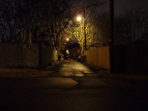 Nashville alleyway