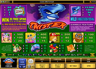 free Twister slot mini symbol