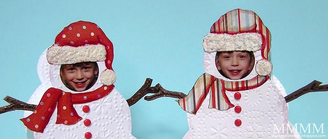embellish snowman