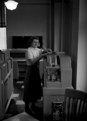Audrey Helen [Helm?], IBM Department main office, Midvale Company, 1951 (Kheel Center, Cornell University) Tags: women offices cornelluniversitylibrary kheelcenterforlabormanagementdocumentationandarchives KheelCenter:photoResolution=600dpi KheelCenter:photoId=6013pb1n1809 KheelCenter:photoFileOriginal=6013pb1n1809n600gjpg