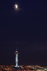 Lunar eclipse over Trondheim