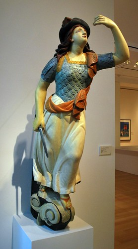 "Figurehead in the ""American Art"" Gallery - First Floor"
