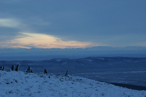 Alaska Range from Murphy Dome