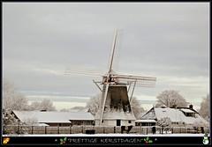 Voor iedereen..... (Hieperventiel) Tags: winter sneeuw molen drenthe sleen kerstwens noordsleen albertdina hieperventiel