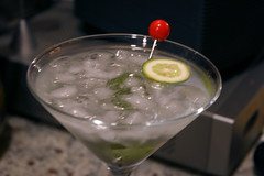baby lemon martini
