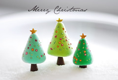 Merry Christmas ({JooJoo}) Tags: snow green mint christmastree polymerclay joojoo microbead afsanehtajvidi joojooland