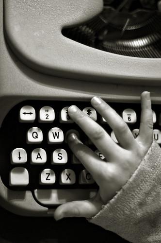 type hand