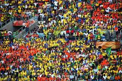 [WC2010] Brazil vs Netherlands : 6 (Crystian Cruz) Tags: world africa brazil holland cup netherlands dutch field brasil fan do stadium fifa south campo holanda pitch worldcup pe za mundo estdio copa 2x1 2010 portelizabeth torcida f quarterfinals torcedor nelsonmandelabay quartasdefinal