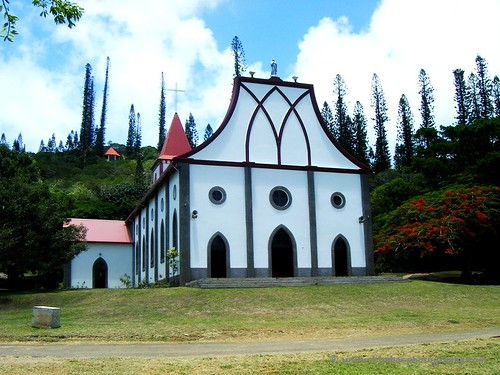 Church at Isle of Pines