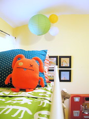 You are getting very sleepy..... (KnockKnocking) Tags: cute green art ikea kitchen wall paper bed doll child room nursery polka dot retro ugly lantern uglydoll bunk