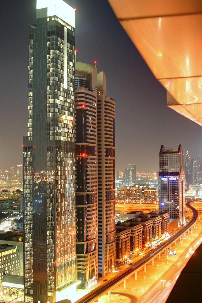 Shk Zayed Road - South View