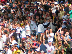 Edgbaston 2005 - Eng v Aus - Day 3 - Girl in the Crowd - For Boxing Day 2010