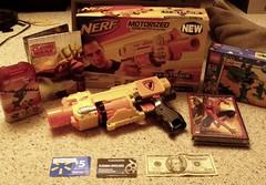 2010 Christmas Loot! (Commander Hess) Tags: christmas lego nerf 2011 hual