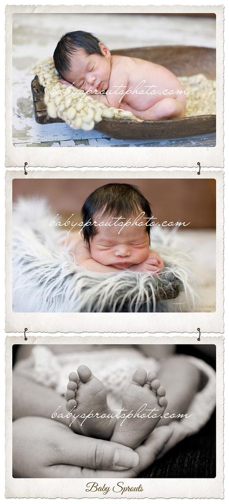 Raina Newborn Session at 7 days - Redmond Newborn Photography