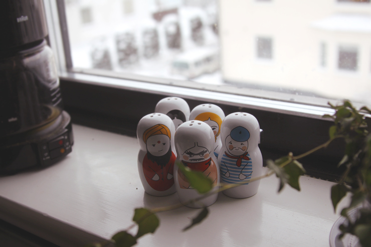 little men on my windowsill