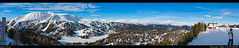 Panorama Turracher Hhe, last skiing day december, 31st 2010 (gert_stone) Tags: snow austria skiing wind krnten carinthia snowboard silvester turrach turracherhhe snowboardning