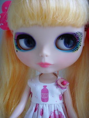 Riley Love is lovin' her Buttonarcade dress