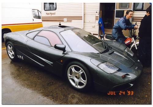 1993 mclaren f1 prototype xp4 supercar. coys historic festival at