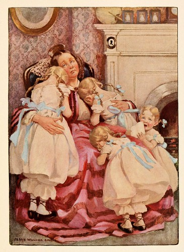 018-Dickens's children 1912- Jessie Willcox Smith