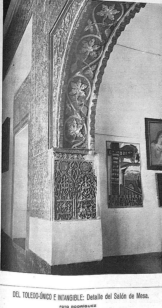 Casa de Mesa hacia 1930. Fotografía de Rodríguez publicada en la Revista Toledo en febrero de 1930