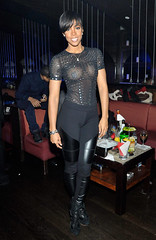 kelly rowland at some club getting busy
