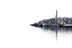 El faro (Media_Mirada) Tags: faro mar minimal highkey eos450d canonef28105mmf3545usm