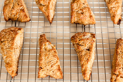 Whole Wheat Fig Scones