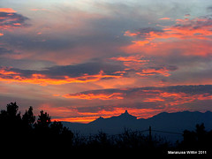 sunset on Reyes 2011 (Marlis1) Tags: sunset red sky clouds spain catalunya reyes montes elsports holidaygreetings weatherphotography marlis1
