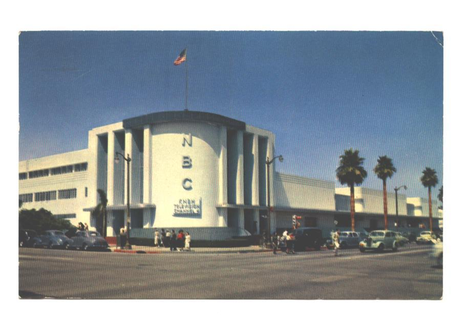 NBC studios in Hollywood