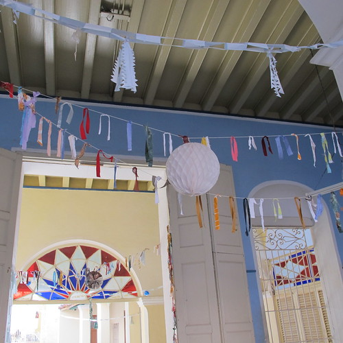 Trinidad, Cuba - handmade garlands
