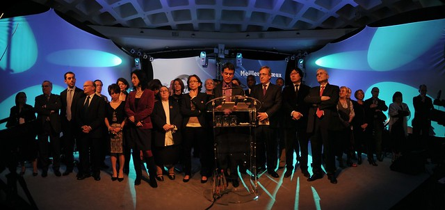 Evry Daily Photo - les voeux du depute maire Manuel Valls Evry 2011