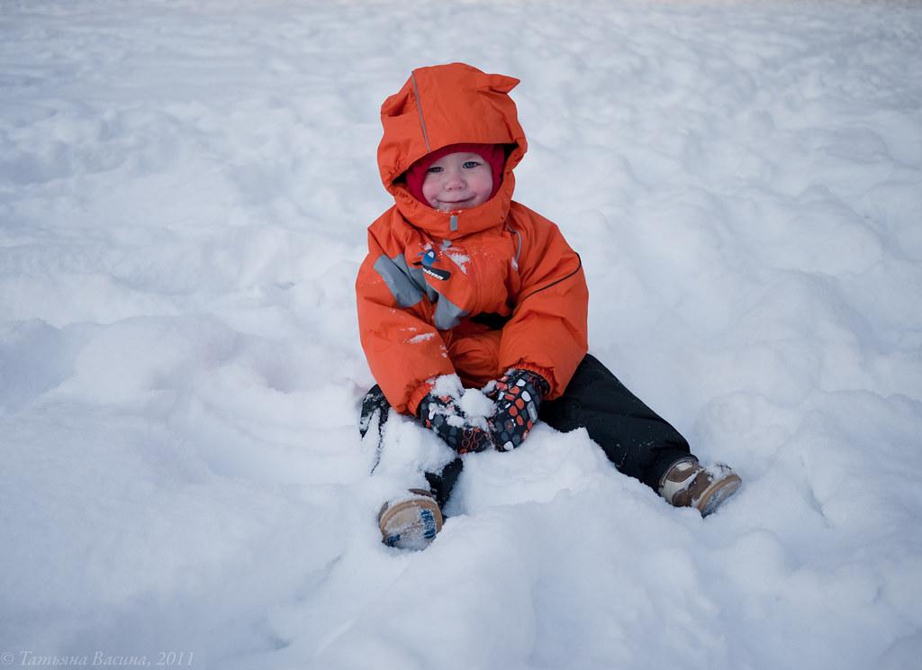 вкусный снег! =)