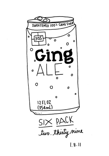 01.08.11 / Ginger Ale Six Pack