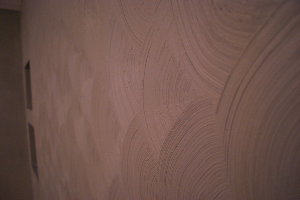 luckily the texture is super easy to replicate and i actually like it - Bedroom Wall Textures