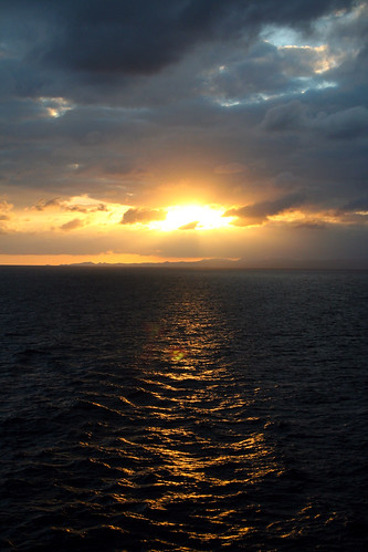 Carnival Spirit - Sunset on a Sea Day
