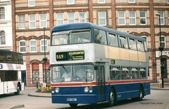 6986 WDA 986T (onthebeast) Tags: travel west bus buses station wm service coventry leyland fleetline midlands wolverhampton